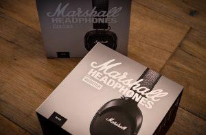 Marshall Headphones Boxes